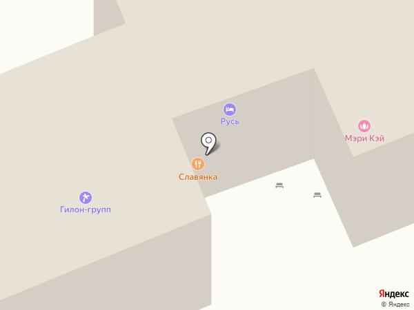 Массажный кабинет на карте Иркутска