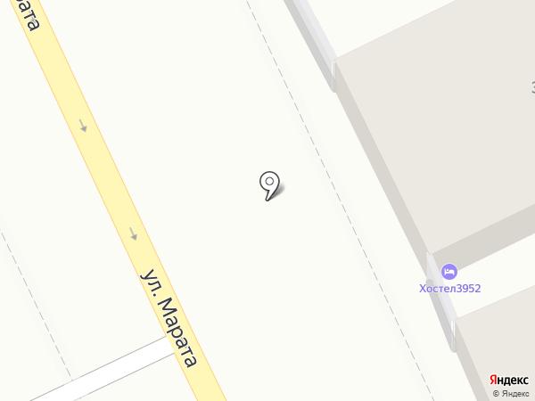Hostel3952 на карте Иркутска