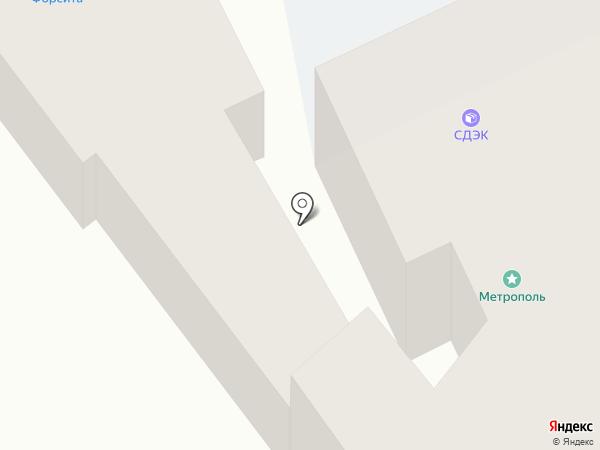 Алан на карте Иркутска