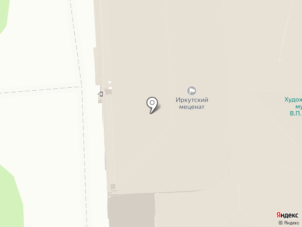 Иркутский меценат на карте Иркутска
