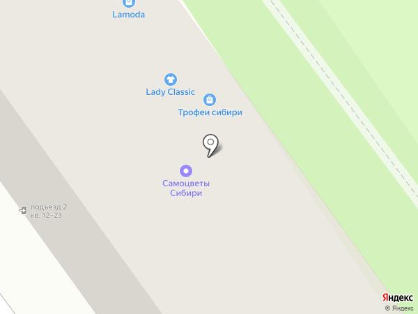 САМОЦВЕТЫ на карте Иркутска