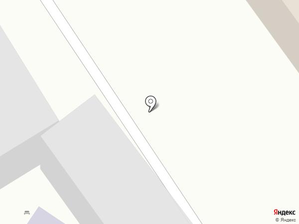Знак на карте Иркутска