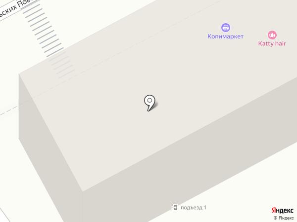 Клевер на карте Иркутска