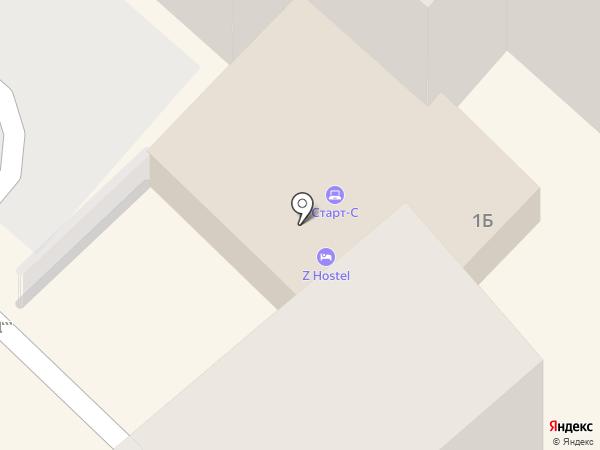 Patio Hostel Irkutsk на карте Иркутска