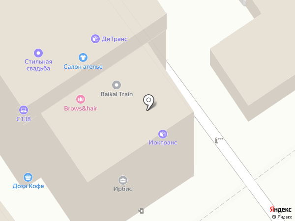 Сиб-Бит на карте Иркутска