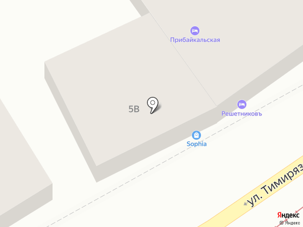 Магазин антиквариата и сувениров на карте Иркутска