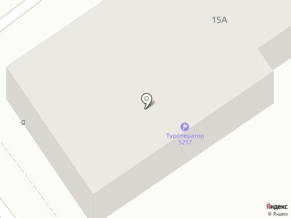 52°17` Travelcenter на карте Иркутска