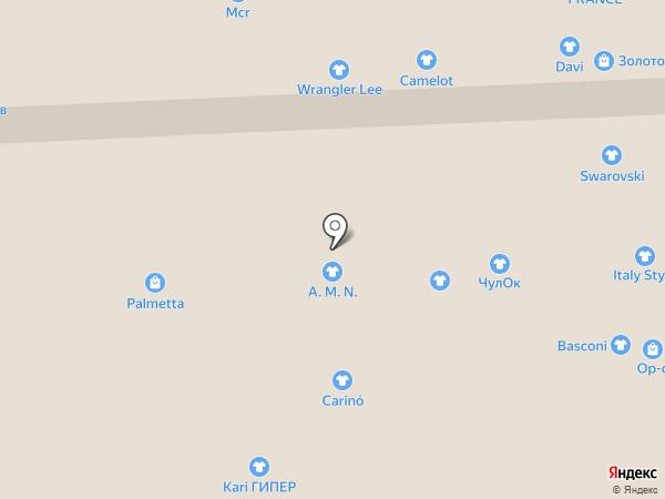Фишка на карте Иркутска