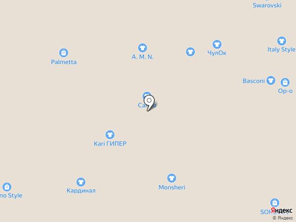Barocello на карте Иркутска