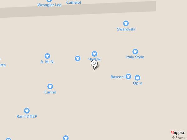 Camelot на карте Иркутска