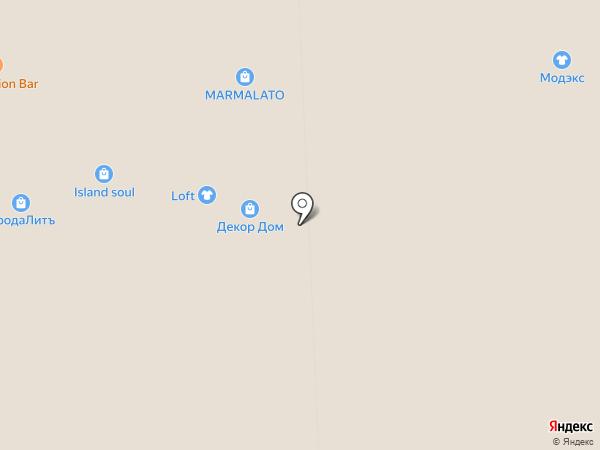 Botetto на карте Иркутска
