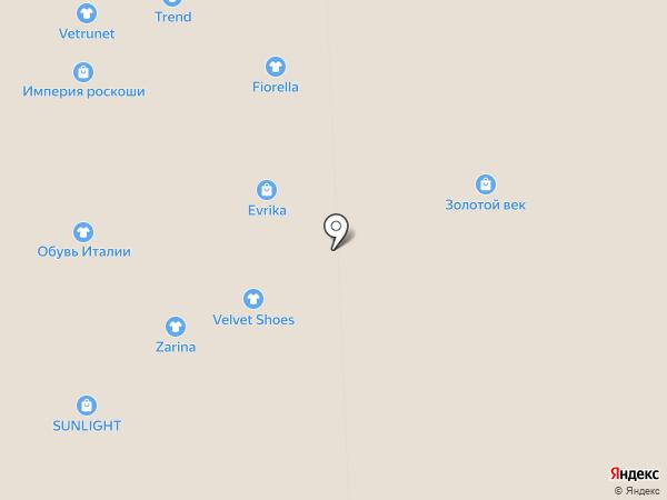 Fiorella на карте Иркутска
