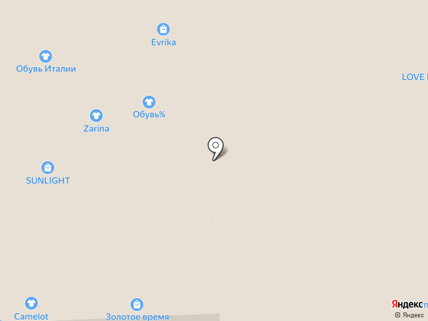 Evrika на карте Иркутска