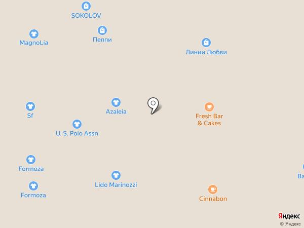 Bono style на карте Иркутска