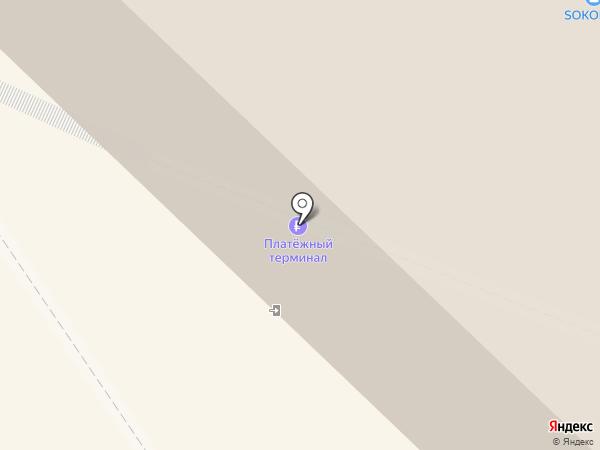 Milavitsa на карте Иркутска