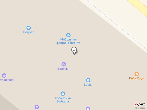 Apriori на карте Иркутска