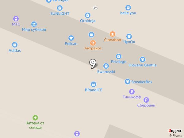 WOW на карте Иркутска