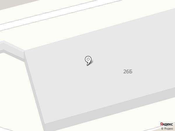 Автозапчасти138 на карте Иркутска