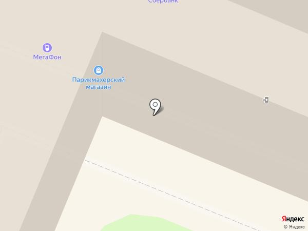 Парикмахерский магазин на карте Иркутска