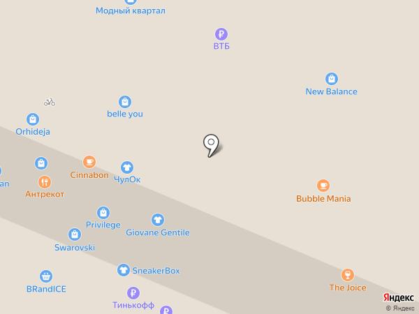 Amber crown на карте Иркутска