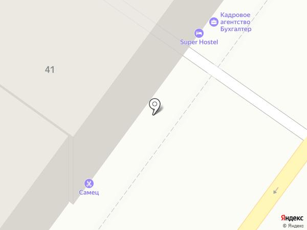 Лесник на карте Иркутска
