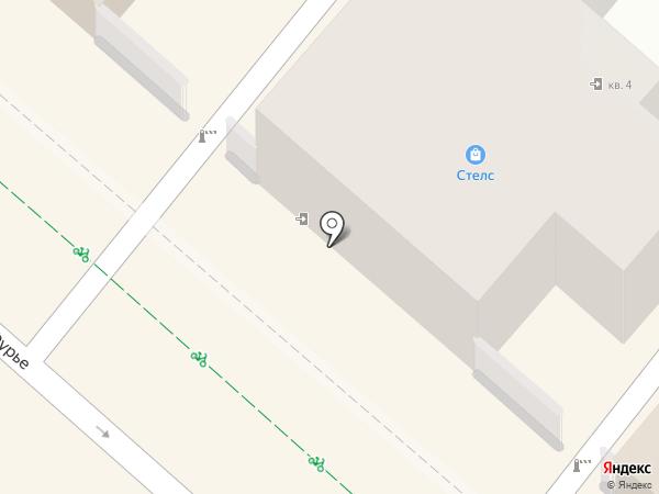 Магазин смешанных товаров на карте Иркутска