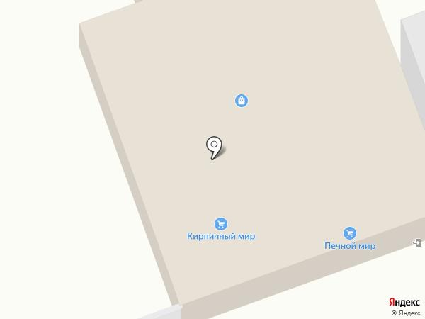 Кирпичный мир на карте Иркутска