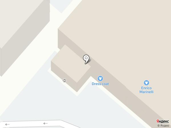 Лента на карте Иркутска