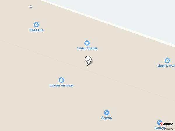 Континент на карте Иркутска