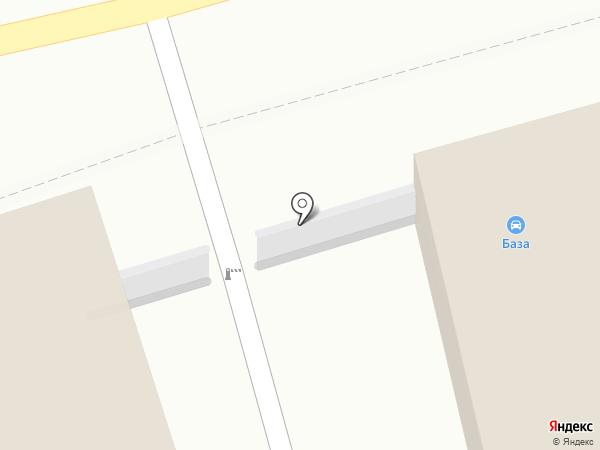 База на карте Иркутска