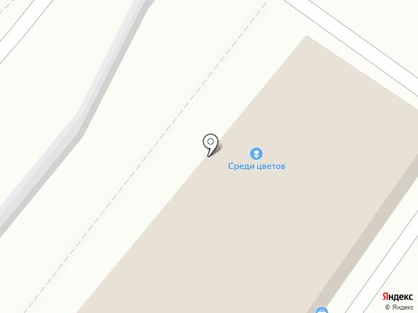 Магазин хлебобулочных изделий на карте Иркутска