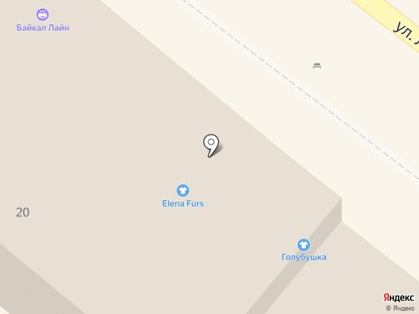 БлоуДрайБар на карте Иркутска