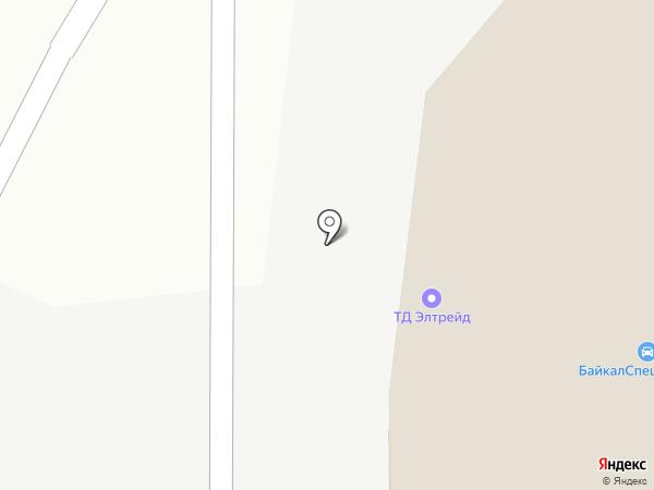 ЭлТрейд на карте Иркутска