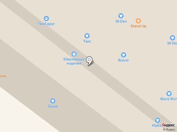 Магазин бижутерии на карте Иркутска