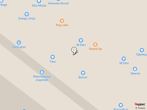 Магазин постельного белья и домашнего текстиля на карте Иркутска