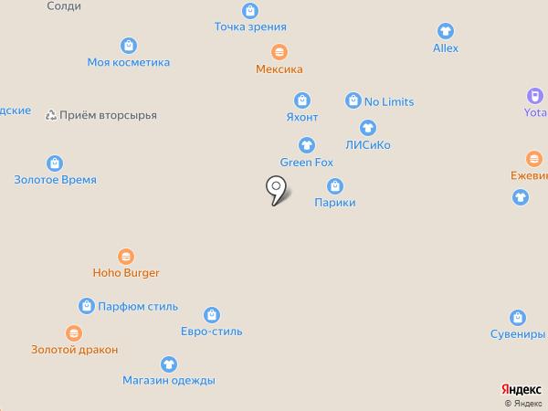 YUNA style на карте Иркутска