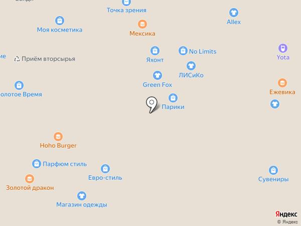 Pecheretti на карте Иркутска