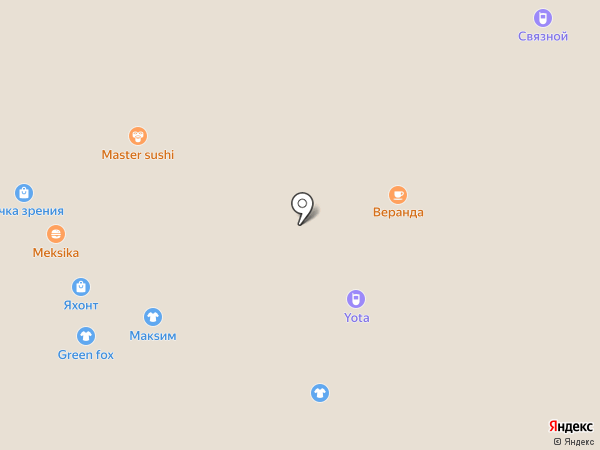 Кокетки на карте Иркутска