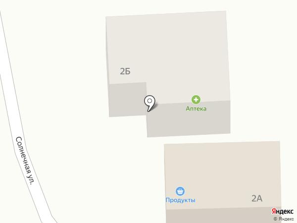 Здравница на карте Карлука