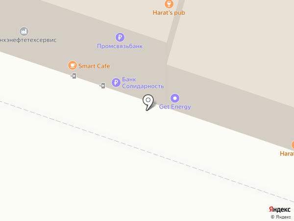 РАВС на карте Иркутска
