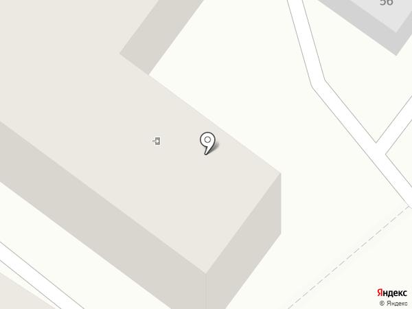 Ветеран на карте Иркутска