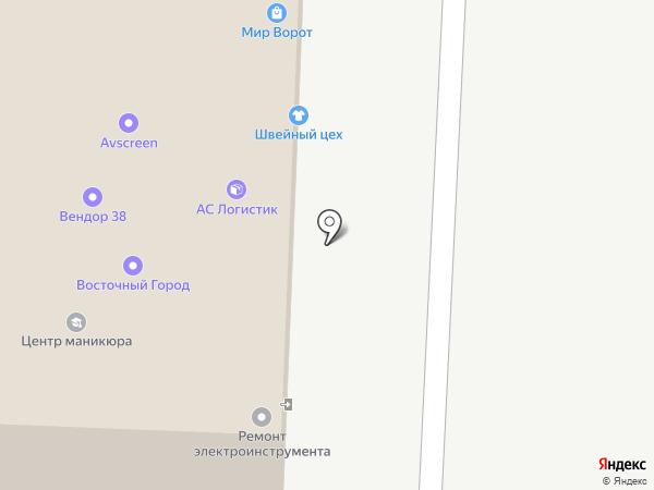 OZON.ru на карте Иркутска