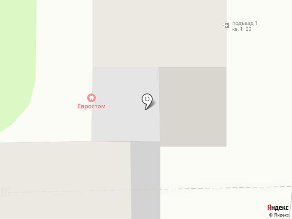 ЕВРОСТОМ на карте Иркутска