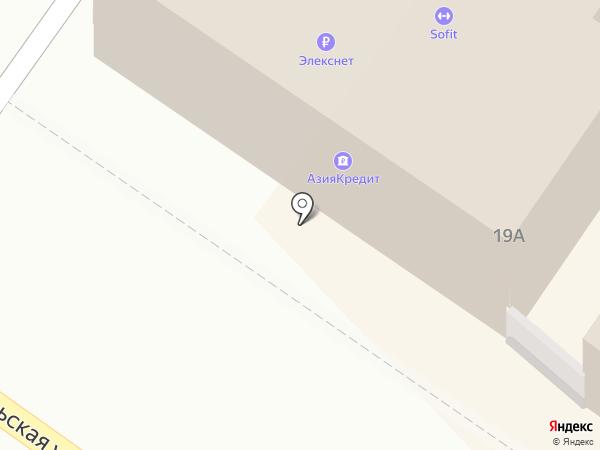 Байбол на карте Иркутска