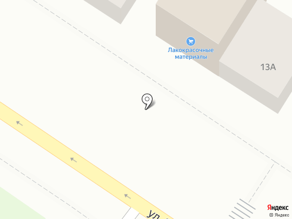 Магазин лакокрасочных материалов на карте Иркутска