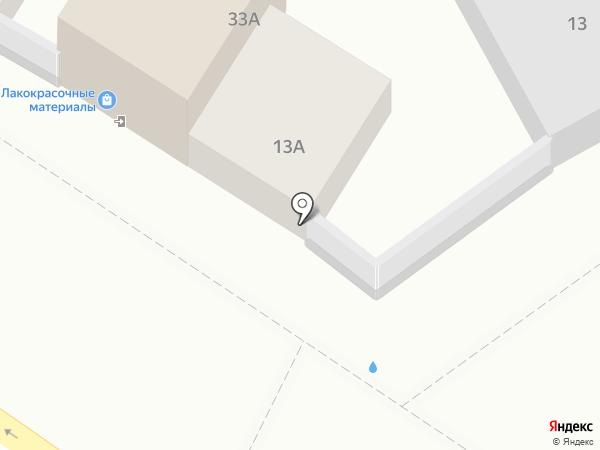 Автомойка на карте Иркутска