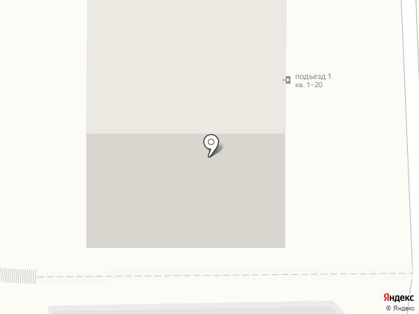 Антеннщик на карте Иркутска