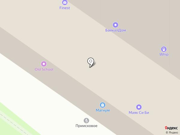Сервис ТехноПром на карте Иркутска