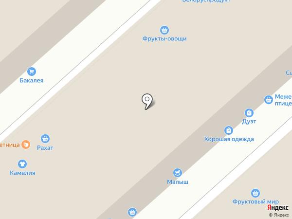 Золушка на карте Иркутска