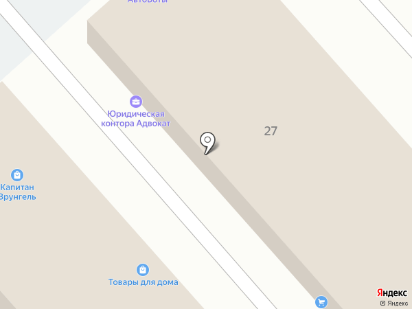 Профессионал М на карте Иркутска